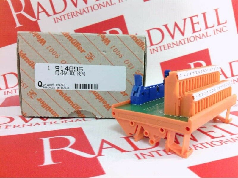 WEIDMULLER 914896   914896 (NEW IN BOX)