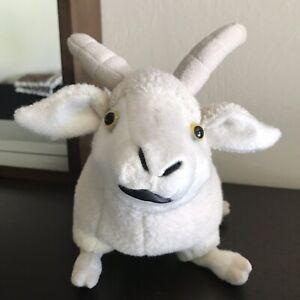 Saks-Fifth-Avenue-Plush-Cashmere-Goat-Stuffed-Animal-10-034-Soft-Toy-100-Cashmere