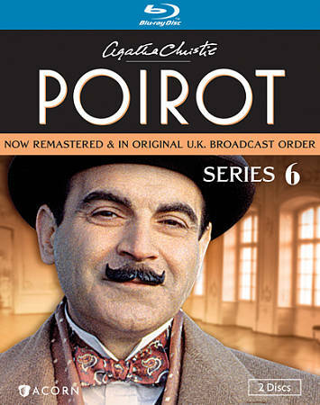 Agatha Christies Poirot Series 6 Blu Ray Disc 2012 2 Disc Set For Sale Online Ebay