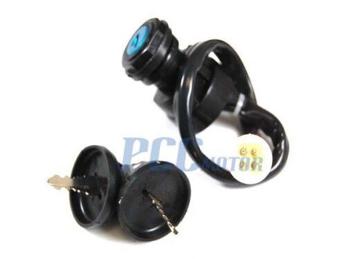 Ignition Key Switch YAMAHA BIG BEAR 350 YFM350 4x4 1990-1994 NEW ATV V KS32