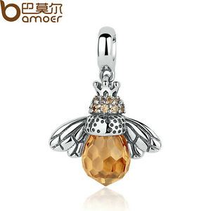 Bamoer-Jewellry-Solid-S925-Sterling-Silver-Charm-With-Crystal-Fit-Bracelet-Chain