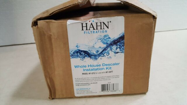 Hahn Whole Home House Water Descaler W Post Filter Kit For