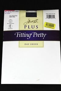 Hanes plus fitting pretty pantyhose