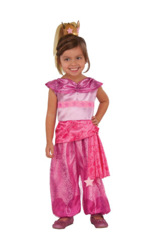 Deluxe Leah Girls Fancy Dress Book Week Costume Rubie/'s Shimmer and Shine