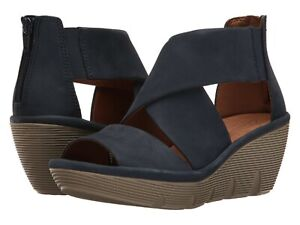 7660ff88be Image is loading ladies-sandals-Clarks-womens-Artisan-Clarene-Glamor-navy-