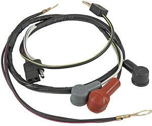 Mustang Alternator Wiring Loom Harness 1967 1968 67 68 289 ...