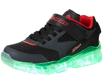 kids Boys Zollow Light Up Sole Trainers