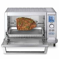 Cuisinart Tob-200 Oven, Rotisserie Convection Toaster Oven, Stainless Steel