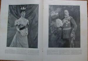 L'ILLUSTRATION 3023 2/2/1901 MORT REINE VICTORIA PROCLAMATION EDOUARD VII  VERDI