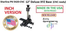 Sherline 5420 Cnc Inch Version Cnc Ready 12 Xyz Base See 5430 Cnc For Metric