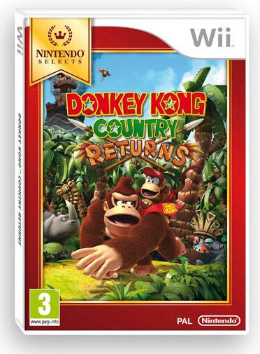 Donkey Kong Country Returns Selects Nintendo WII IT IMPORT NINTENDO