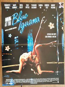 Plakat Blue Iguana Michael Radford Charlotte Ayanna Daryl Hannah 40x60cm