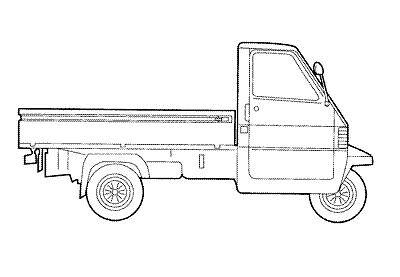CATALOGO RICAMBI ORIGINALI APE TM 703 DIESEL LCS 422CC 2005-2010