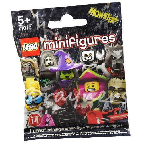 HORROR Rocker sigillato in fabbrica dei mostri LEGO minifigura serie 14 71010