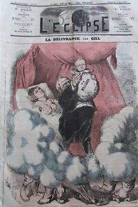 Thiers-Deliverance-Caricature-Journal-Satirical-L-039-Eclipse-No-No-197-of-1872