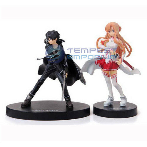 Sword Art Online Asuna and Kirito Figures Brand New / Unboxed Anime SAO