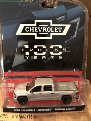 Greenlight  Anniversary Series 2018 Chevrolet Silverado pickup Redline Edition