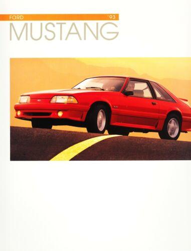 Mint! 1993 Ford Mustang LX LX 5.0L GT Dealer Sales Brochure