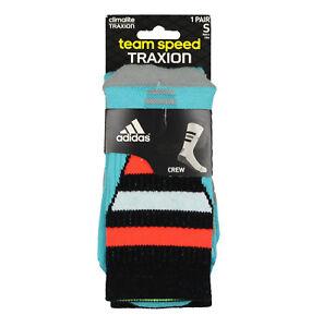 ADIDAS Youth Team Speed Traxion Crew Socks sz S Small (1Y-5Y ... 1b26dacbf