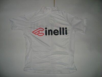 ITALIA BIKE JERSEY CINELLI BIKES ITALIAN SHIRT SIZE XXL COOL ITALY BLACK MASH NR