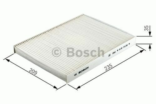 HAS VARIOUS COMPATIBILITIES GENUINE OE BOSCH CABIN FILTER M2113