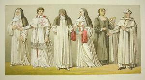 Suits-Traditional-Italy-Italia-Religious-Firmin-Didot-c1888-Nurses