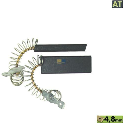 MOTORKOHLEN Kohlebürsten Bosch Siemens 154740 00154740 Whirlpool 481236248434