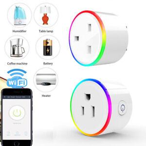 Details about US UK EU AU WiFi Smart Home Plug Socket Switch work Alexa  Google Home Assistant