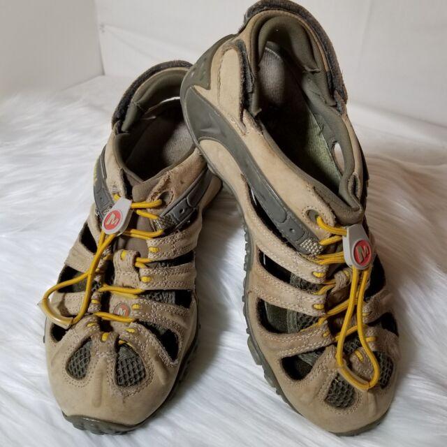 f221619febaa MERRELL Waterproof Continuum Women s Size 7.5 Water Hiking Sport Sandals  VIBRAM