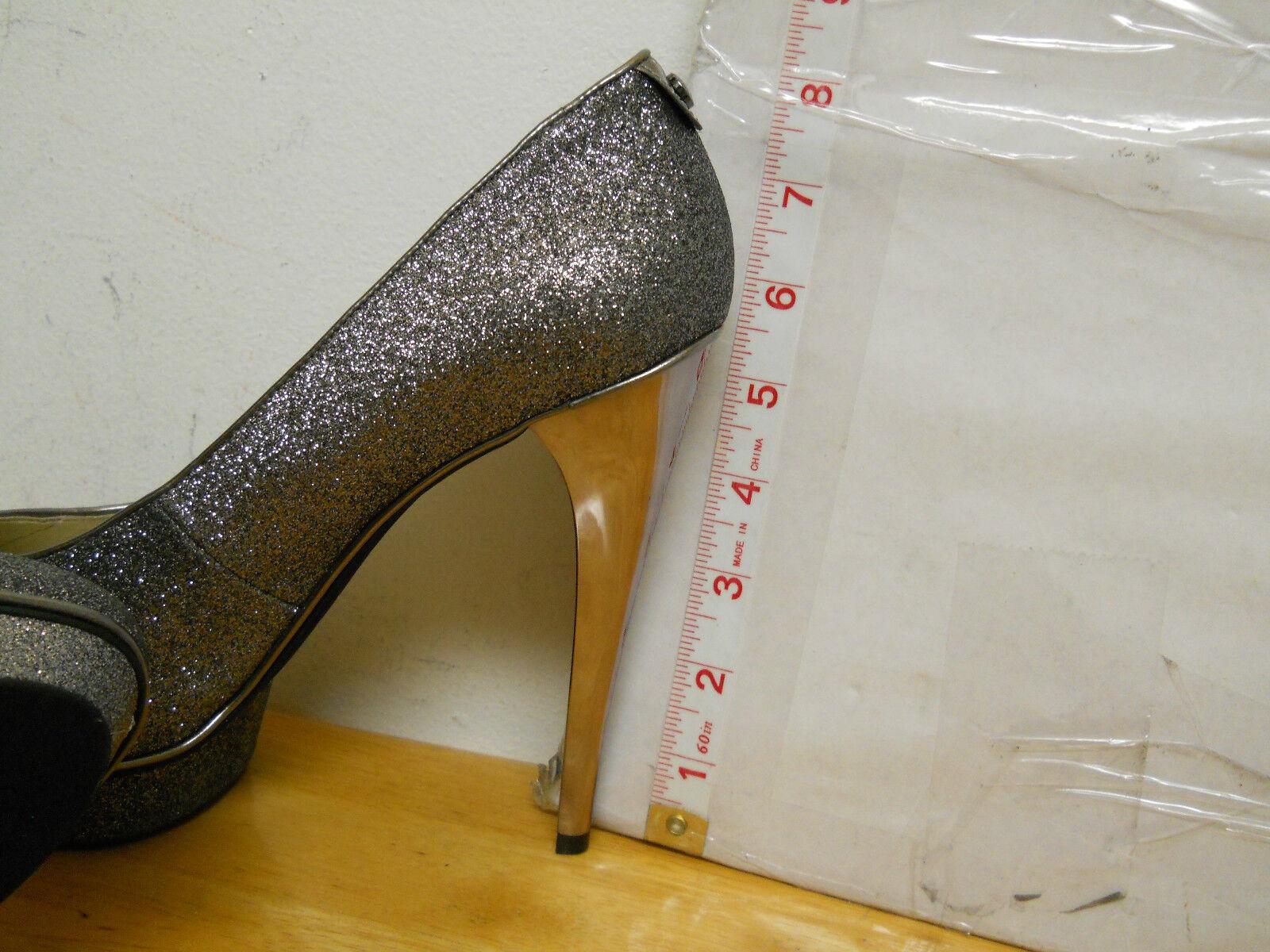 Michael Kors New New New Damenschuhe Gunmetal Glitter Heels 9.5 M Schuhes NWOB 538e47