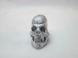 Dollhouse-Miniature-Unfinished-Metal-Large-skull