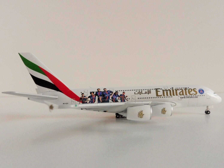 Emirates Airbus a380-800 Paris St Germain 1 500 Herpa 529440 A 380 a380 a6-eot