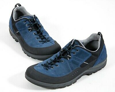 Ecco Yura Receptor LT Blue Suede Low Trail Hiking Lace Up Shoes Size EU 45 | eBay