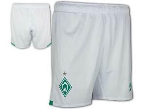 Umbro-Werder-Bremen-Shorts-Heim-weiss-19-20-Sporthose-SVW-Home-Fan-Fussballhose