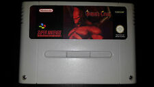 Demons Crest SNES Super Nintendo PAL en italiano