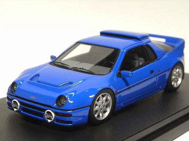 Ford Rs200 1984 bleu  1 43 Model 8342 HPI RACING  design unique