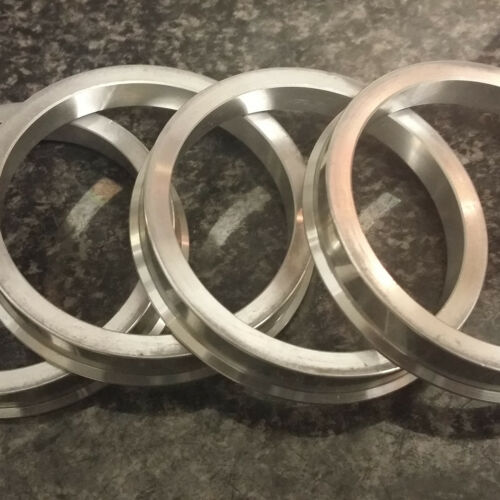 Aluminium Spigot Rings 66.6-57.1 Wheel Spacer Set of 4 Alloy Wheel Hub Centric