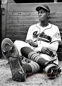 Satchel-Paige-PHOTO-Cleveland-Indians-Team-Star-Negro-League-Baseball