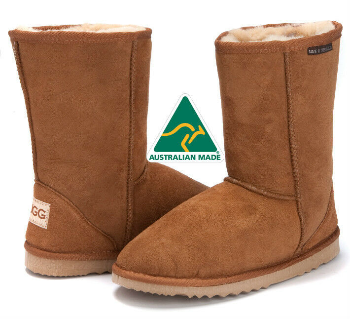 Classic 3 4   Short Deluxe Boots Premium Australian Sheepskin - 13 colors