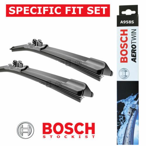 SEAT ALTEA inc.XL TOLEDO III Genuine BOSCH A958S Aerotwin Front Wiper Blades Set