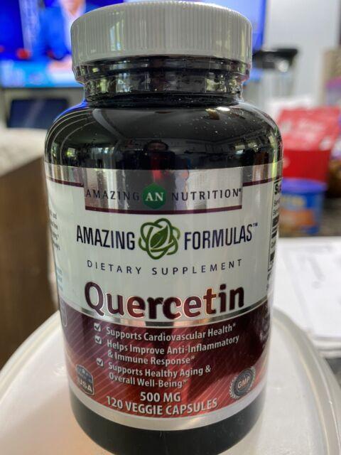 Amazing Formulas - Quercetin 500 Mg, 120 VCaps(Vegetarian Capsules)