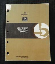 John Deere 8850 Tractor 8955 Diesel Engine Component Technical Service Manual