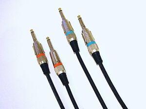3M-Instruments-Cable-guitares-Cable-ofc-kupfer-2-pieces-par-3-m-Low-noise