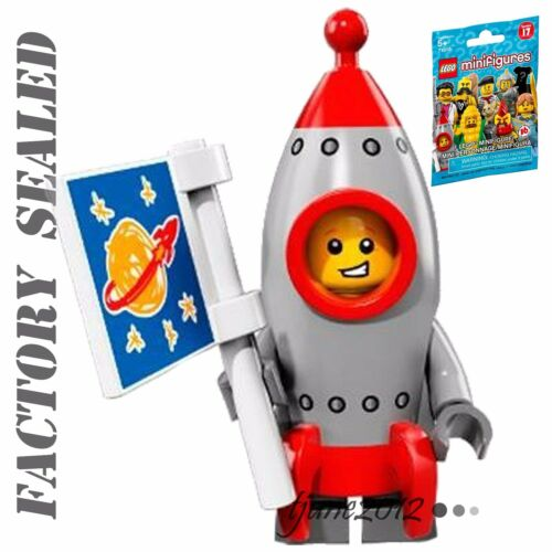 NEW LEGO Minifigures Series 17 Rocket Boy 71018 FACTORY SEALED PACK
