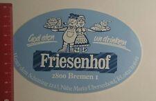 """Pegatina/sticker: """"God Eten onu trago friesenhof Bremen (271116137)"""