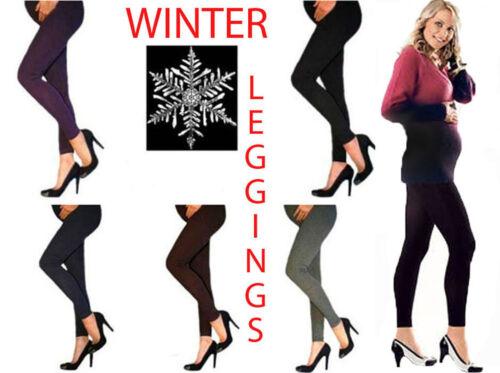xl xxl L xxxl Nouveau Hiver Leggings Doublure Chaude Neuf Coton M