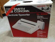 Smith Corona Xl 2500 Electronic Typewriter In Orig Box New Open Box