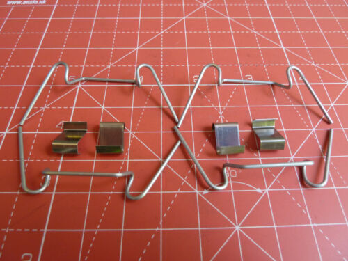 GREENHOUSE KIT FOR 1 PANE OF GLASS 4 SPRING WIRE GLAZING CLIPS /& 4 LAP CLIPS
