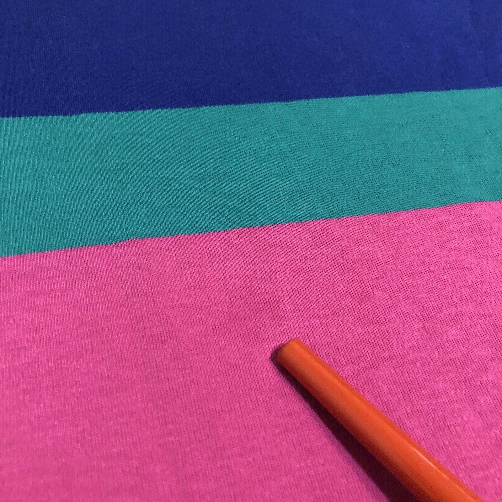 Vtg Ralph Lauren Polo Pink Striped Cotton Short S… - image 5