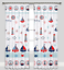 SEA BOATS Baby Bedding Set Duvet Covers for Cot//Cot bed//Toddler 100/% COTTON